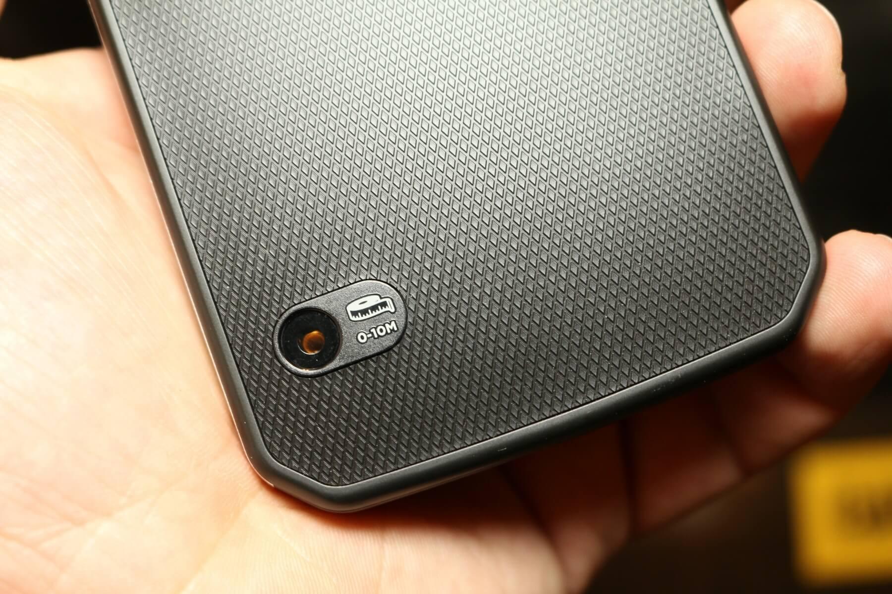 Cat s61 smartphone: wärmekamera laserentfernungsmessung & mehr