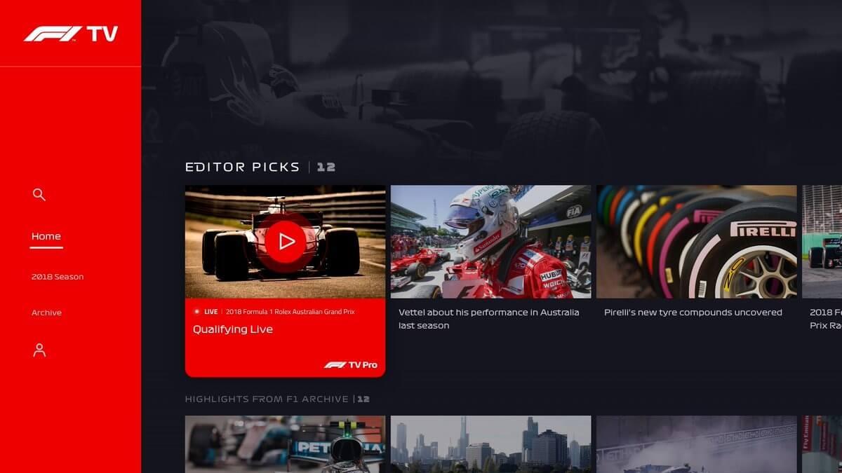 F1 Tv Kosten