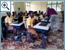 Richard Appiah Akoto unterrichtet in Ghana Informatik