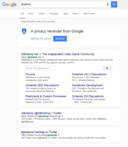 Google: Material Design in den Suchergebnissen