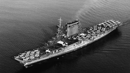 Paul Allen findet US-Kriegsschiff Lexington
