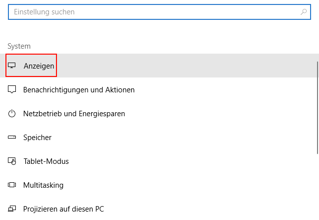 Windows 10: Nachtmodus