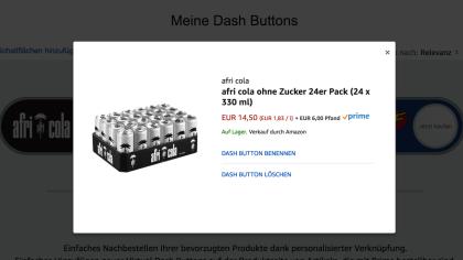 Amazon virtuelle Dash Button
