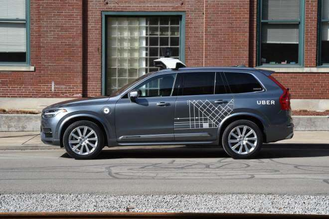 Uber: Autonome Autos von Volvo
