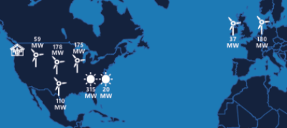 Microsoft: Erneuerbare Energiequellen