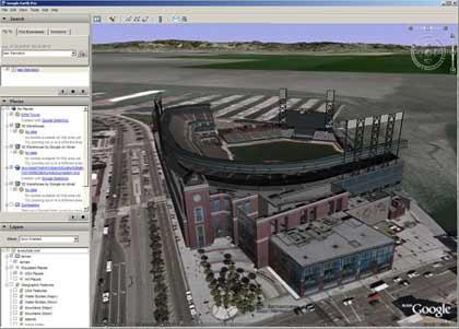 Neue Google Earth Version unterstützt Google Maps - WinFuture.de on