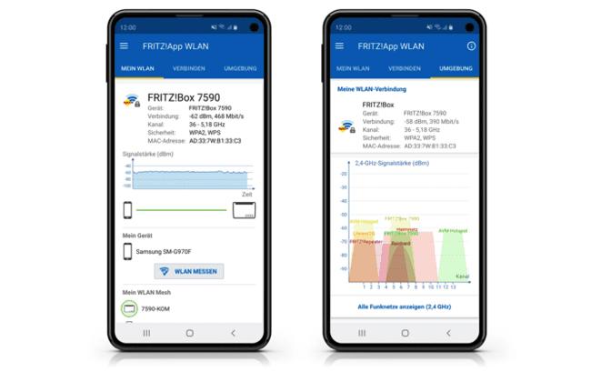 FritzApp WLAN Beta Version 2.6.5