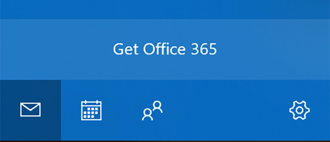Office 365: Werbung in der Windows Mail App