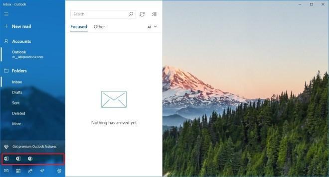 Office 365: Werbung in der Windows Mail App