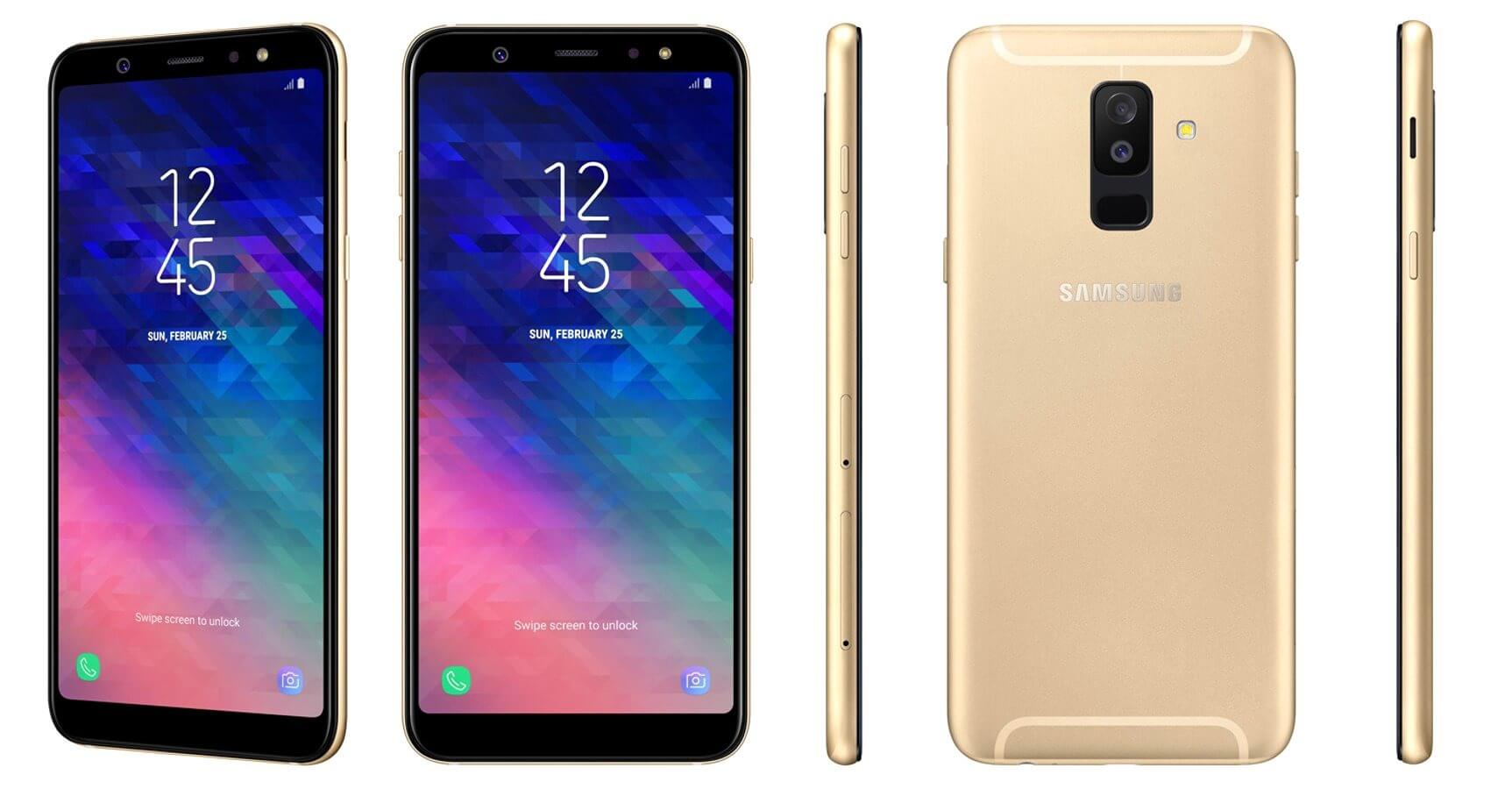 Samsung Galaxy A6 Plus 2018 Erste Bilder Zeigen Neue Mittelklasse