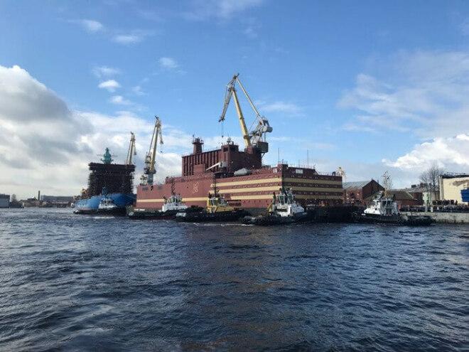 Akademik Lomonossow: Das schwimmende Atomkraftwerk