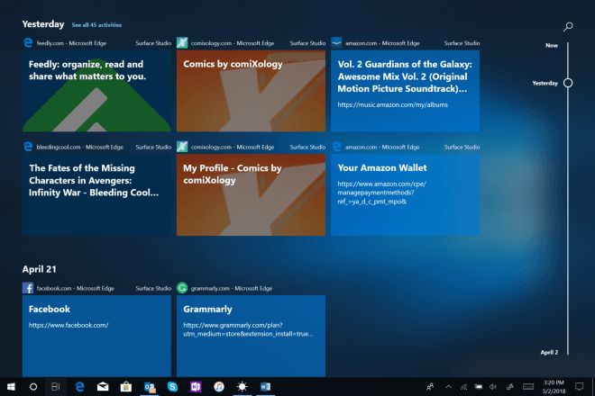 Windows 10 Build 17661