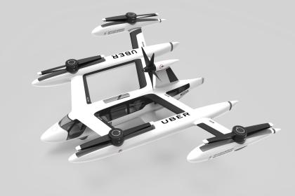 Uber: Flugtaxi mit koaxialen Rotoren