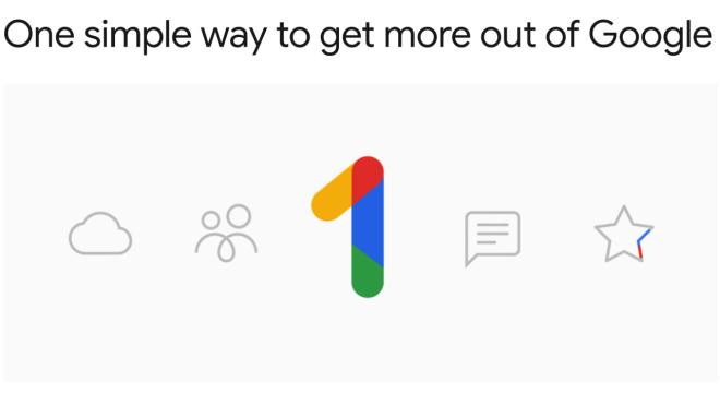 Google One: Einheitliches Paket für die Cloud und neue Preise