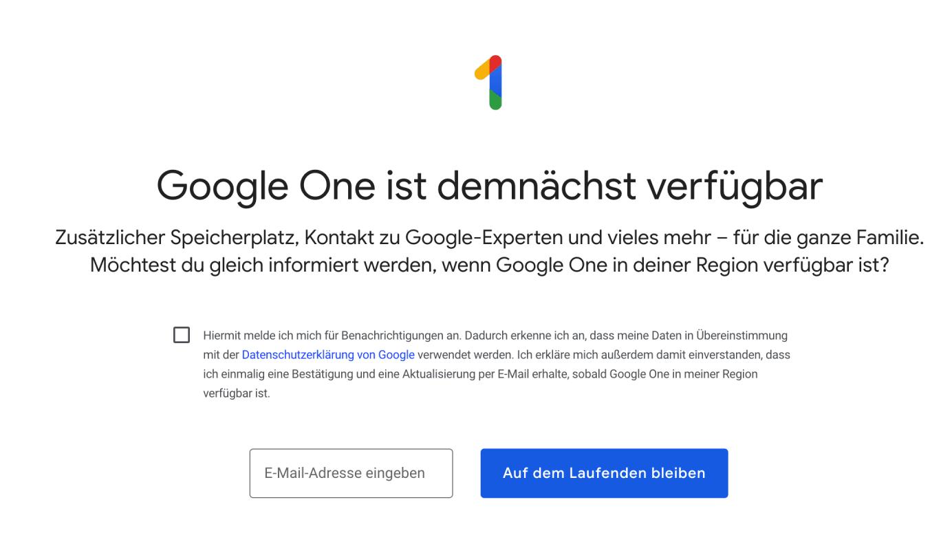 google was bedeutet demnächst
