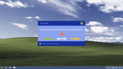 Windows XP Edition 2018 (Konzept)