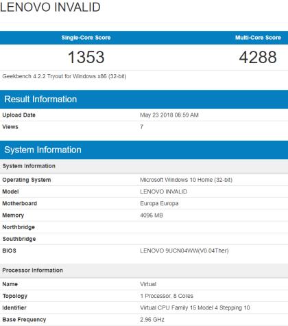 Qualcomm Snapdragon 845 für Windows 10 on ARM