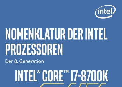 Intels CPU-Bezeichnungen kurz erklärt