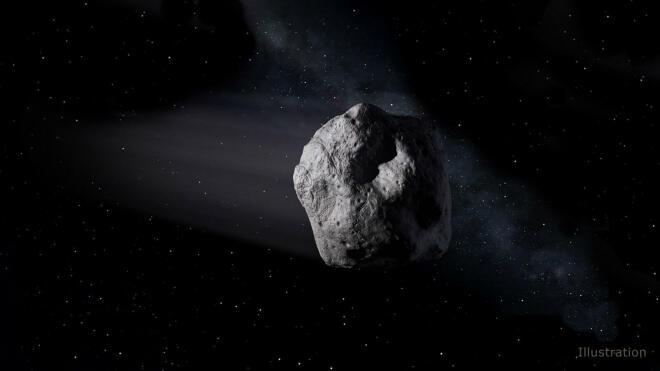 Asteroid 2018 LA (NASA)