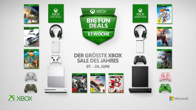 Xbox Big Fun Deals 2018