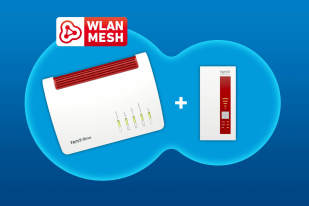 AVM Mesh-Set FritzBox 7590 und WLAN Repeater 1750E