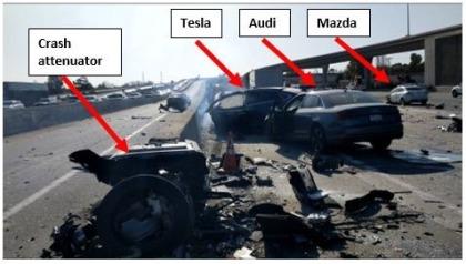 Tesla-Unfall März 2018