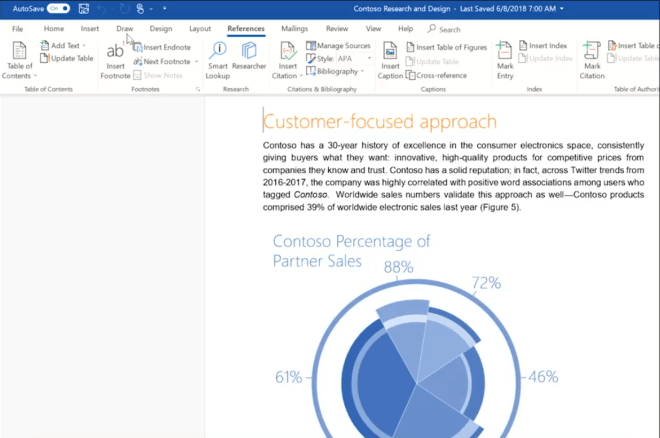 Fluent Design in Microsoft Office