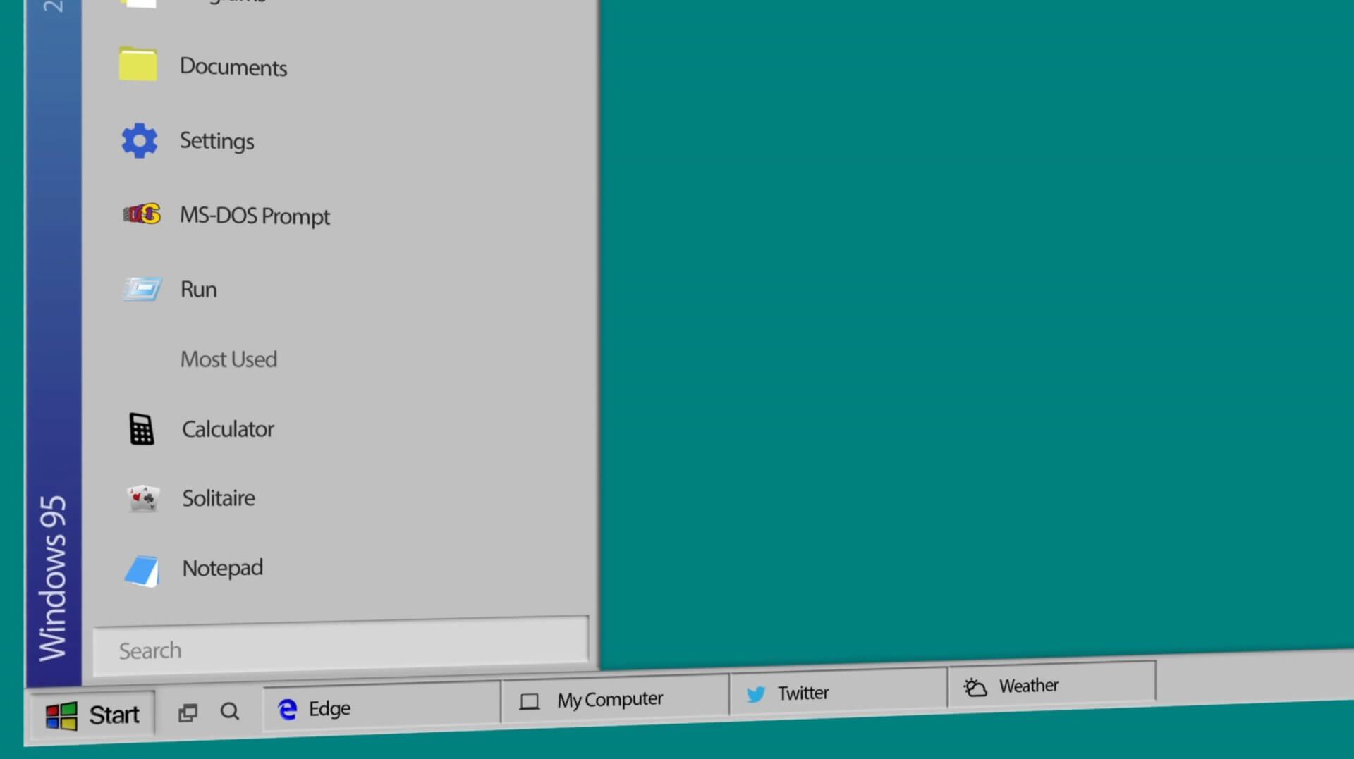 Windows 95 - 2018 Edition