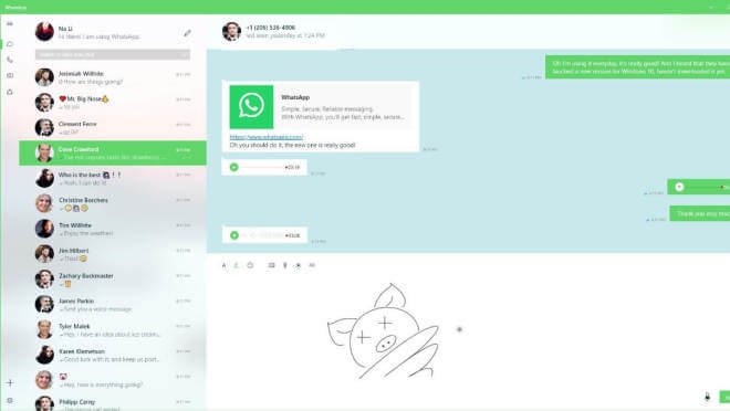 WhatsApp UWP