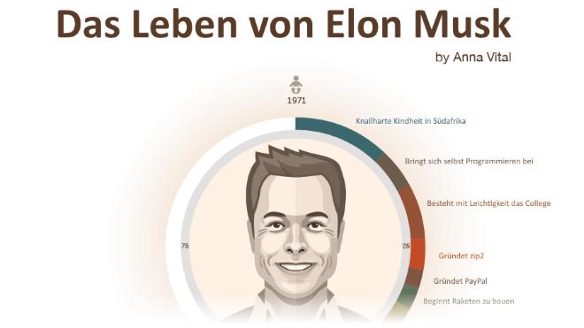 Elon Musk - Das Leben in der Zusammenfassung