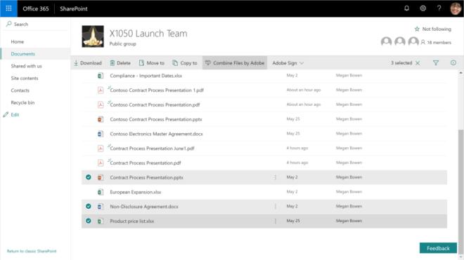 Adobe und Office 365