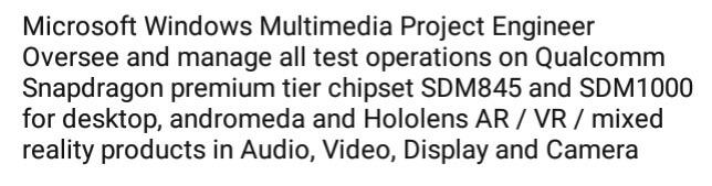 Qualcomm SDM1000