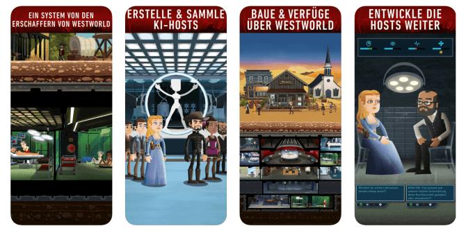 Westworld iOS App