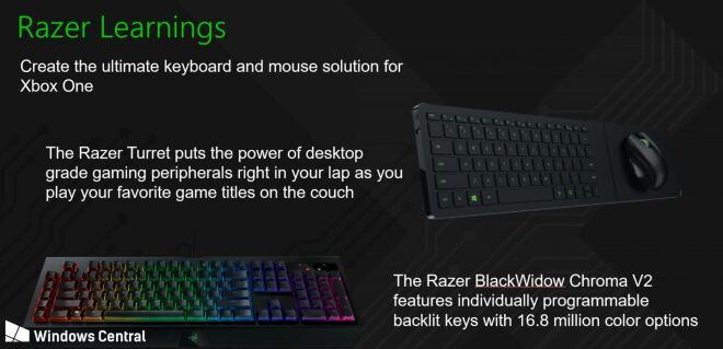 Razer Xbox Präsentation