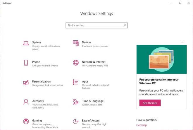 Windows 10 - Werbung in den Einstellungen