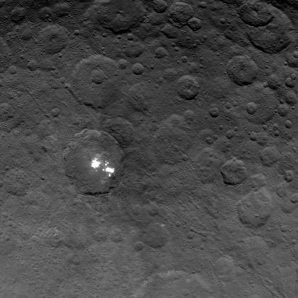 Nasa-Sonde Dawn: Nahaufnahmen von Ceres