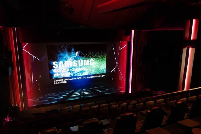 Samsung Cinema LED-Technologie