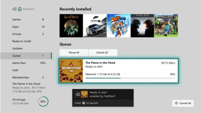 Xbox One Juli Update