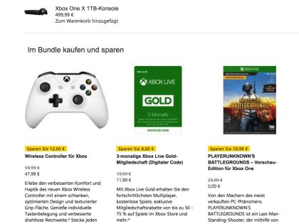 Neue KonsolenBundles PUBG Mit Xbox One X Minecraft Für Xbox One S - Minecraft controller spielen pc