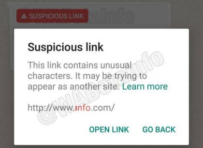 WhatsApp warnt vor verdächtigen Links