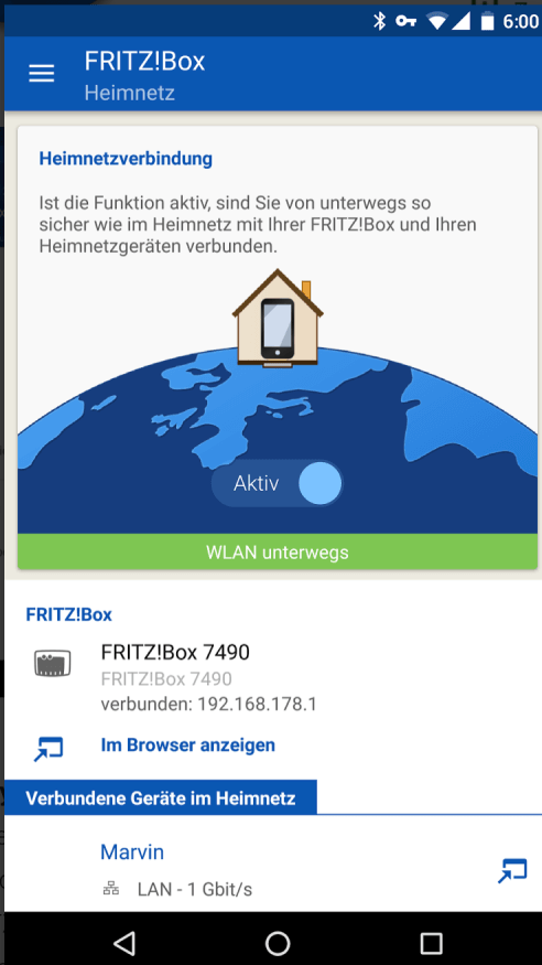 AVM MyFritzApp 2