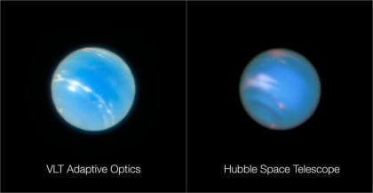 ESO: VLT mit adaptiver Optik