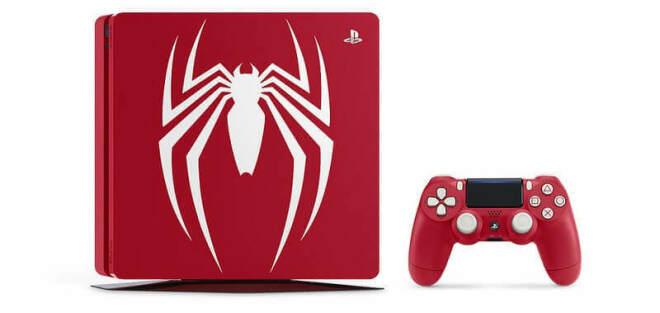 Sony Spider-Man PS4- und PS4 Pro-Bundles