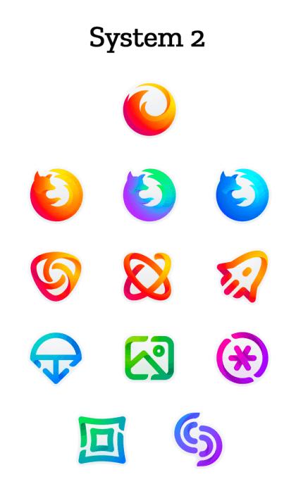 Neue Mozilla-Logos