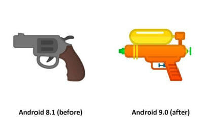 Emoji in Android 9.0