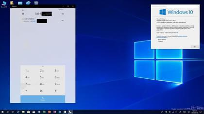 Windows 10 Telefon-App