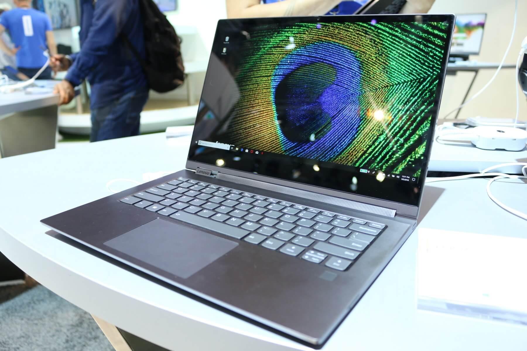 Lenovo Yoga C930 Im Hands On Bling Bling Notebook Mit 4k Display