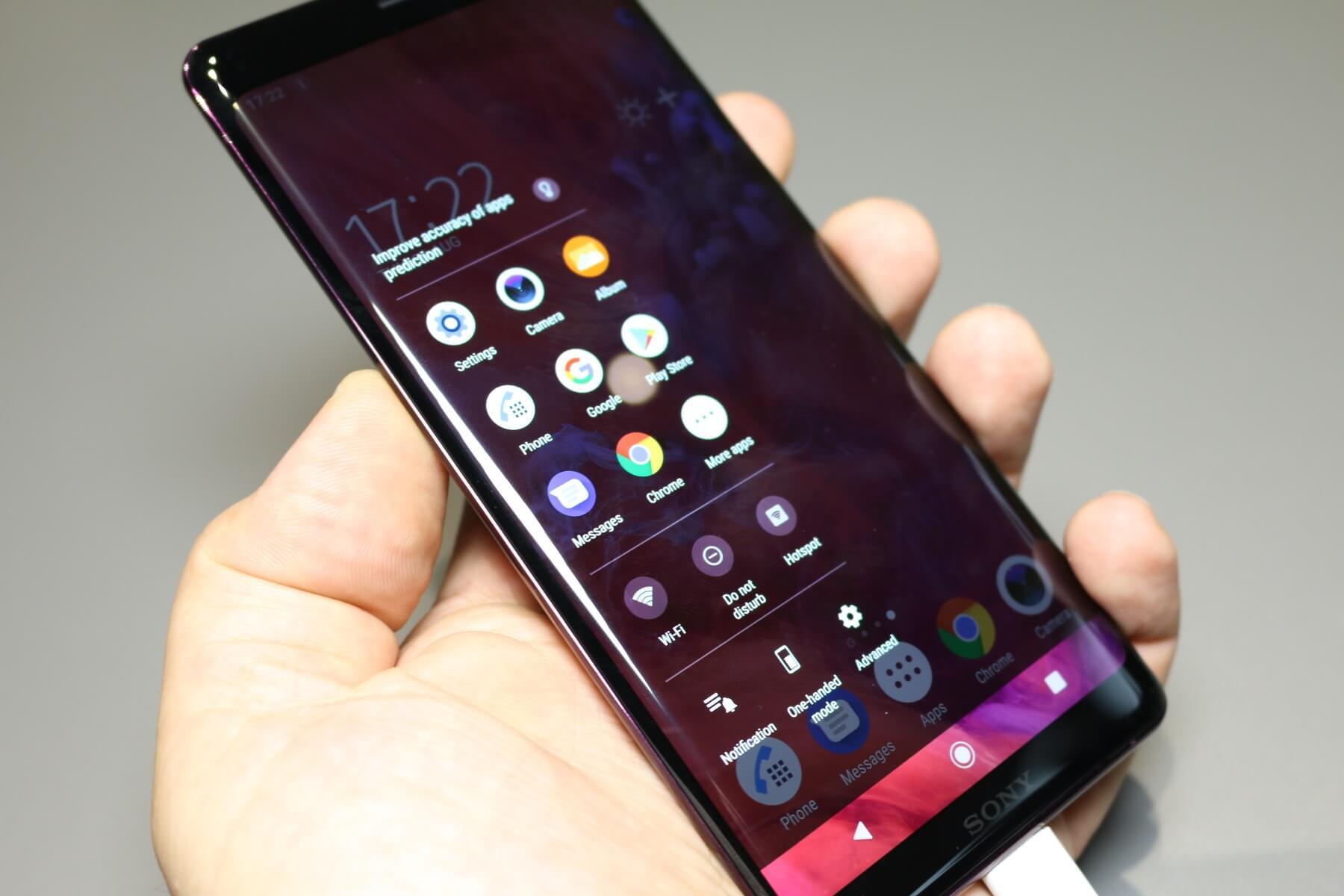 Xperia XZ3: Erstes Smartphone mit Android 9 0