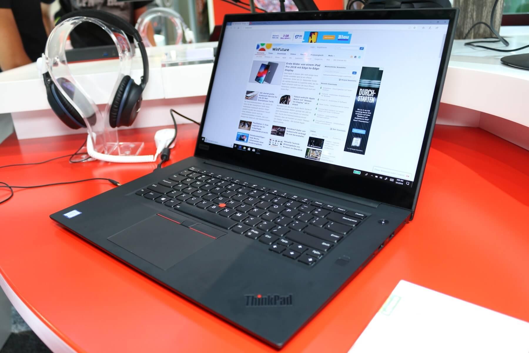 ThinkPad X1 Extreme: Lenovos MacBook Pro-Konkurrent im Hands-On