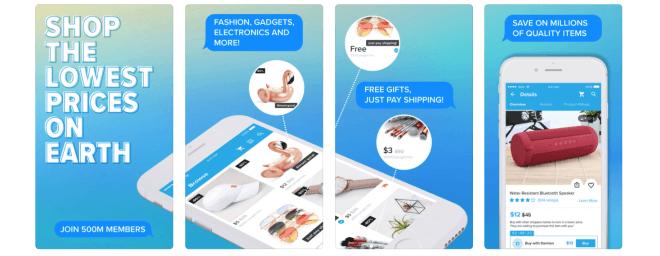 Wish Shopping-App